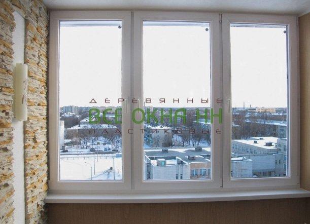 """Застеклить лоджию цена """"все окна нн""""."""